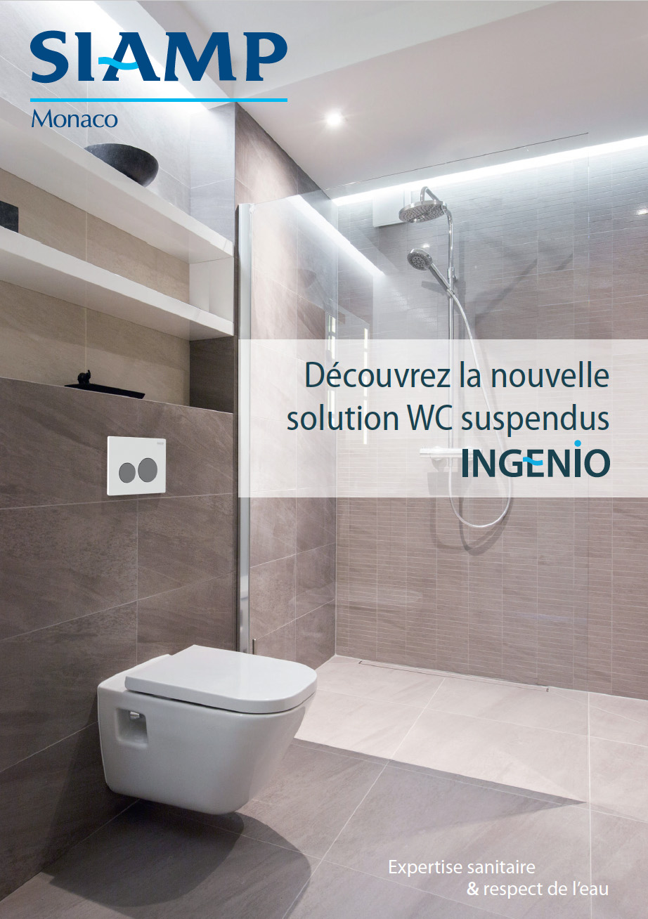 Solution WC suspendus INGENIO