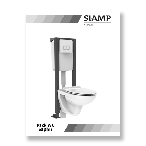 Pack WC Saphir